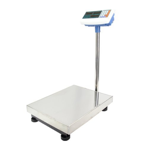 600 LB Pounds Platform Bench Shipping Weight Computing Counting Scales (White)