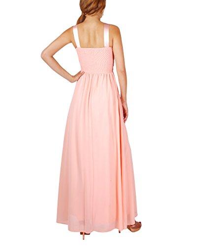 rosa Vestido Elegante Krisp Fiesta 5274 Crema Largo Ceremonia YgOwqafxnv