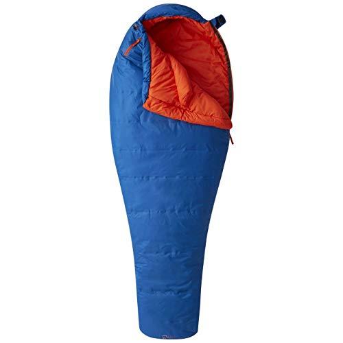 Mummy Sleeping Columbia Bag - Mountain Hardwear Unisex Lamina Z Flame 22F / -6C Long Sleeping Bag, Nightfall Blue, LNG-LH