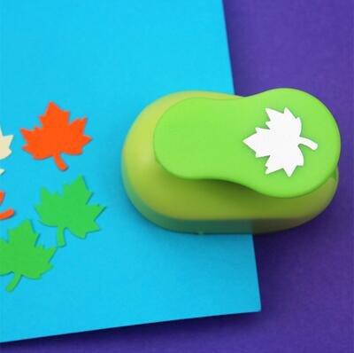 Paper punch 5/8 (cortante de hoja) modelo hoja de arbol