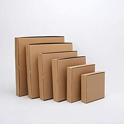 Caja de pizza Kraft de 8 pulgadas (10 piezas) (8 pulgadas de largo ...