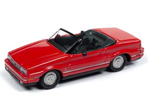 Johnny Lightning JLCG019 Classic Gold VER A 1992 Cadillac Allante Euro Red