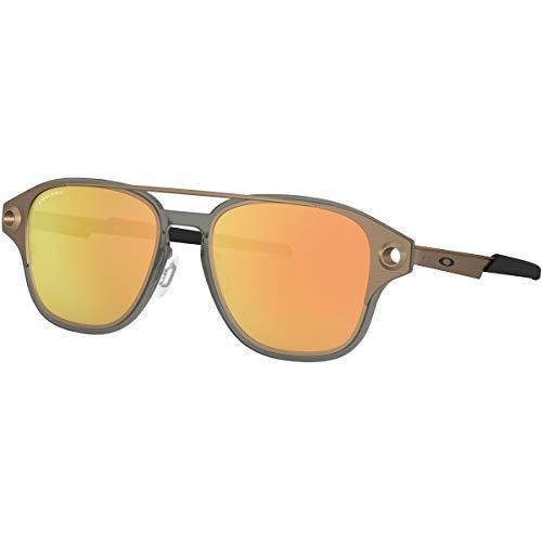 Oakley Men's OO6042 Coldfuse Square Titamium Sunglasses, Satin Toast/Prizm Rose Gold, 52 mm (Oakley Brillen Günstig)