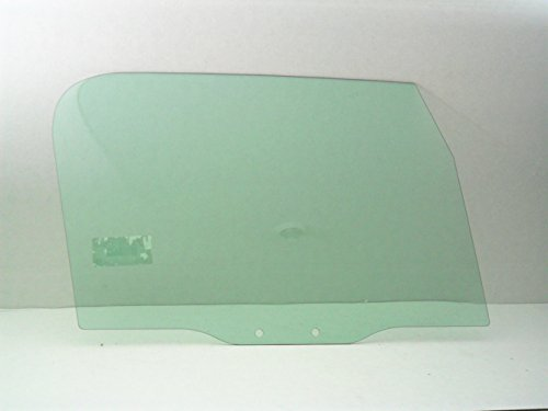 TYG Fits 1997-2006 Jeep Wrangler Passenger Side Right Front Door Window Glass DD9069GTN