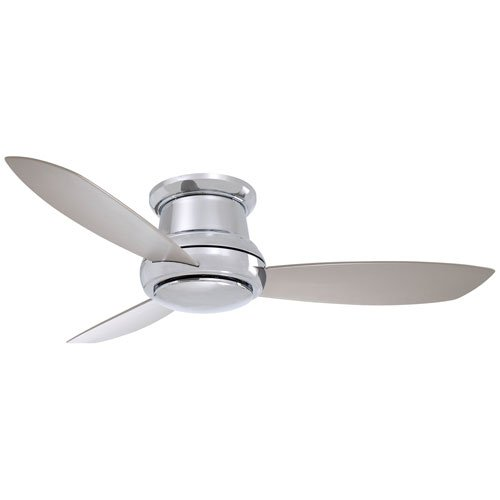 Most Popular Flush Mount Nickel Ceiling Fan On Amazon To