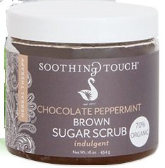 - Soothing Touch Chocolate Peppermint Brown Sugar Scrub, 16 Ounce - 3 per case.