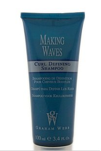 Graham Webb Making Waves Curl Defining Shampoo - 3.4 oz - travel size