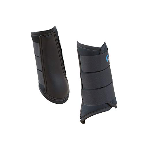 (Shires Equestrian Neoprene Brushing Boots - Set of 2 )