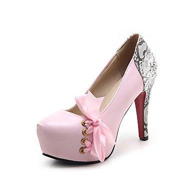 Zapatos rosas de invierno oficinas para mujer BP90PG