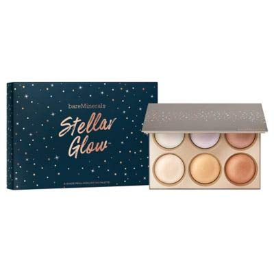 bareMinerals Stellar Glow highlighter kit 6 highlighters