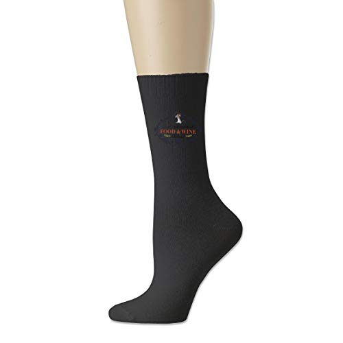Red Christ Men's Women's Epcot International Food and Wine Festival 2017 Classics Cotton Athletic Crew Socks (Epcot International Food And Wine Festival 2017)