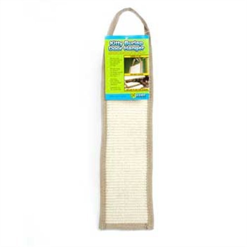 - Ware Manufacturing Natural Jute and Sisal Fibers Burlap Door Cat Scratcher