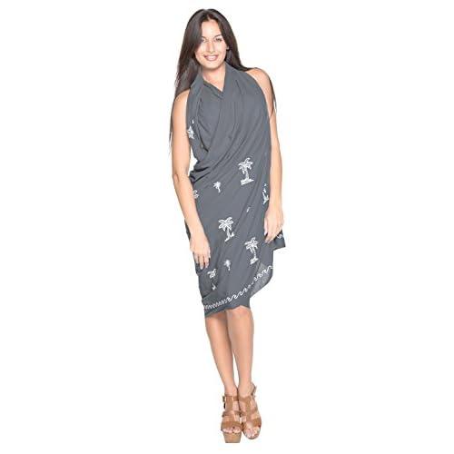 780fa526c7 Sarong Bathing Suit Pareo Wrap Bikini Cover up Womens Rayon Swimsuit  Swimwear 60%OFF