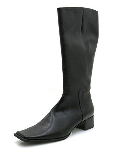 Mexx Elegante Lederen Laarzen Damesschoenen Leer Zwart 2719