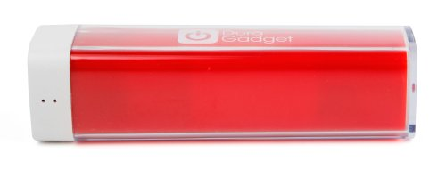 DURAGADGET High Capacity Universal Power Bank in Shocking Red with Durable Micro USB Cable for the NEW Sony Xperia E4 / E4g & Sony Xperia M4 Aqua