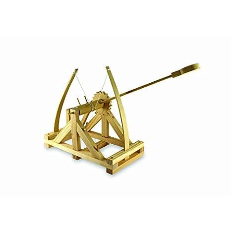 Amazon.com: Thumbs Up! Kit de catapulta de madera Da Vinci ...