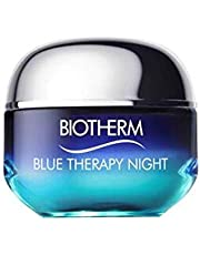 Biotherm Blue Therapy Anti-Aging Night Cream - Face Moisturizer with Life Plankton for Skin Repair, 50 milliliters