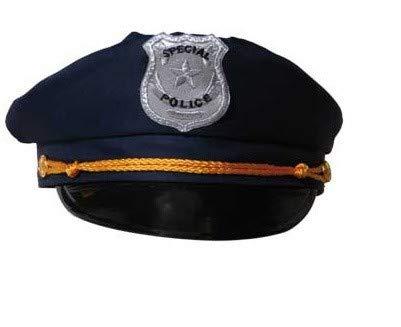 Berretto blu della polizia - Lotto Set di 6 pezzi