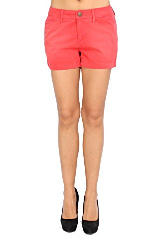 Pepe Jeans Women's Shorts Lily - Red, W29 (Pepe Shorts Jeans)
