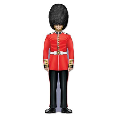 Beistle 54627 Royal Guard Cutout, 35.5