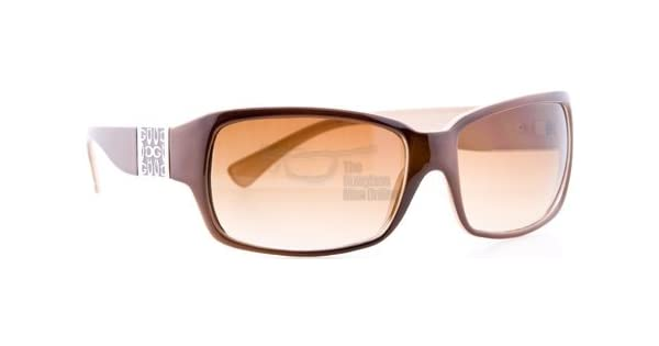 Amazon.com: DG Sunglasses Style #26317 - Brown & Latte ...