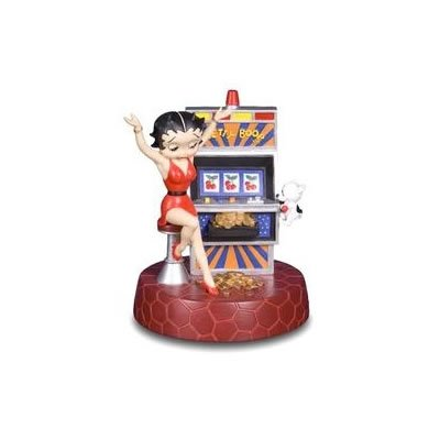 Betty Boop Figurine - Slot Machine
