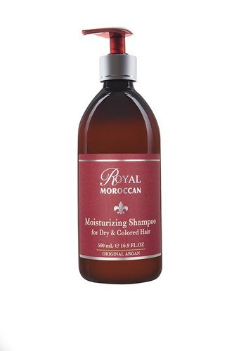 Real marroquí 500ml Champú Hidratante - Cabello Seco y color: Amazon.es: Belleza