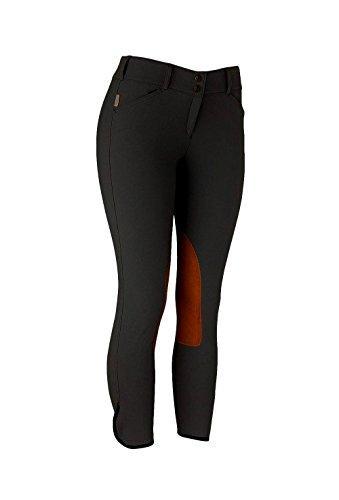 Tailored Sportsman Ladies Trophy Hunter Low Rise Front Zip Breech (Titanium/Tan, 26R) ()