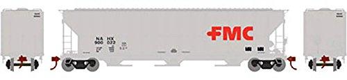 Athearn Ath81971 Ho Rtr Fmc Covered Hopper  Fmc  900022