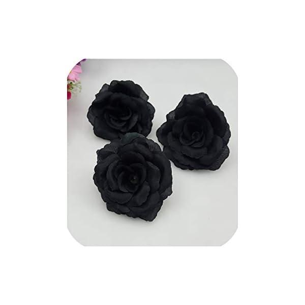Lot 1-28PCS silk rose wrist corsage brooch or bracelet with prom wedding flower