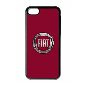 Fiat iPhone 5c Cell Phone Case Black DIY Gift pxf005_0233379