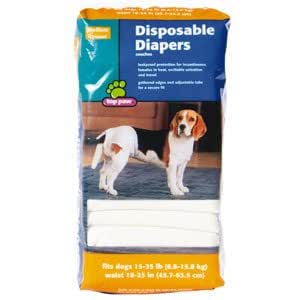 Large Disposable Dog Diapers