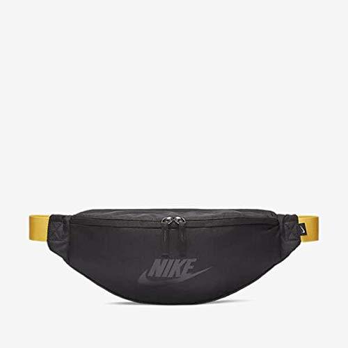 Nike Heritage Hip Pack, Black/Amarillo/Black, Misc