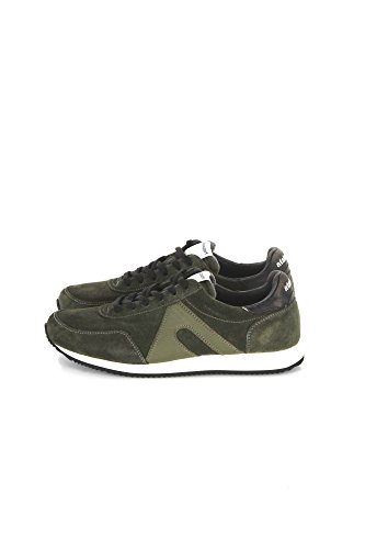 ATALASPORT Sneakers Uomo 39 Verde 10011 Super Suede Autunno Inverno 2017/18