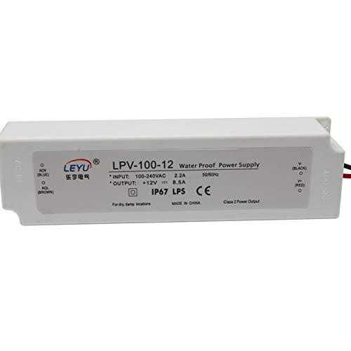 Utini CE IP67 high Efficiency Waterproof 100w 12v 8.5a Power Supply