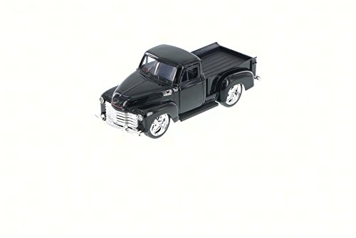 1953 Chevy Pickup Truck, Black - Jada Toys Just Trucks 97007 - 1/32 scale Diecast Model Toy Car (53 Chevy Truck Model compare prices)