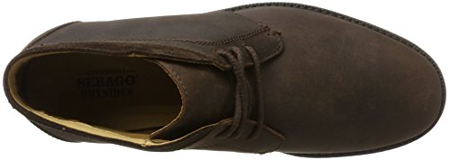 Sebago Herren Turner Chukka WP Boots Braun (Dk Brown Leather Wp)
