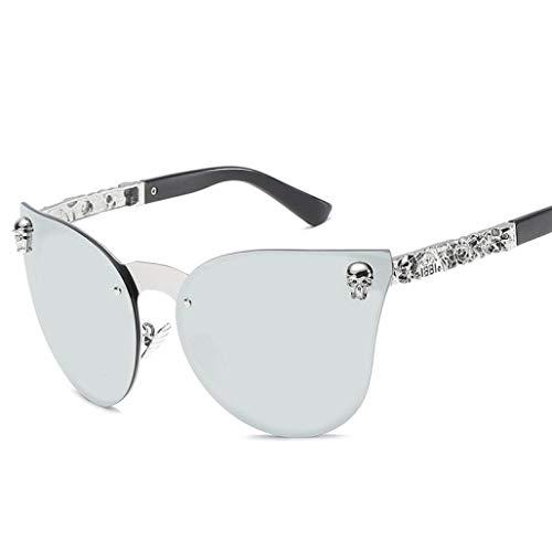 Sunglasses, Forthery Aviator Sunglasses for Mens Womens Mirrored Sun Glasses Shades UV400 (H)