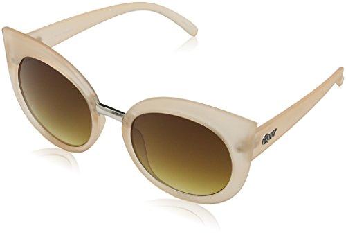 mujer Quay Australia Brn para Gafas Eyewear Beige de sol Marrón xxT467WqwA