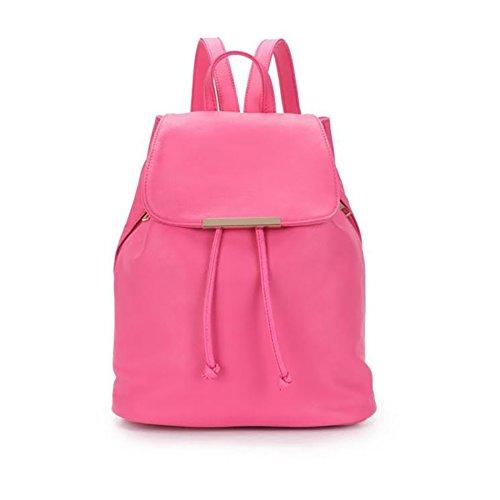 Fashion Shoulder Fuchsia Women amp; Bag Girls Backpack fExZ6wHq