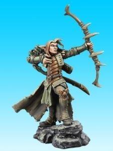 (Arathanel, Elf Ranger - 1 Unpainted 28mm Heroic Scale Miniature - Dark Heaven Legends by Reaper Miniatures 03732)