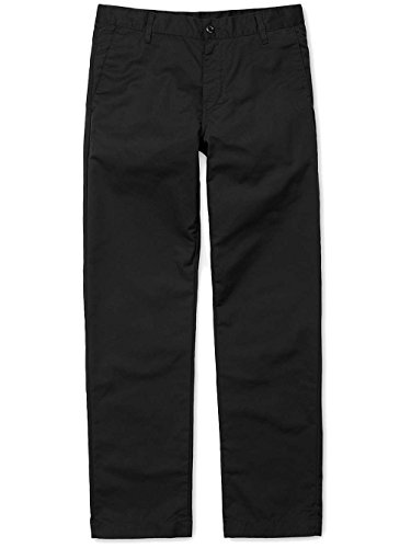 CARHARTT WIP - - Homme - Chino Straight Fit Station Dunmore Noir Lavé pour homme - 32/34