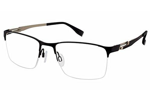 Charmant Perfect Comfort Eyeglasses TI12317 TI/12317 BK Black Optical Frame - Brand Ti Glasses