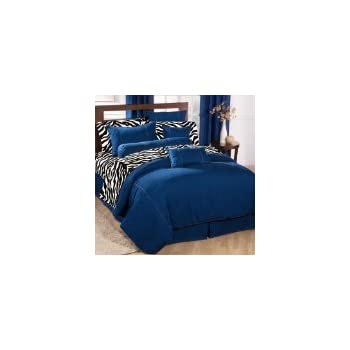 Amazon Com American Denim Duvet Cover Size King Home