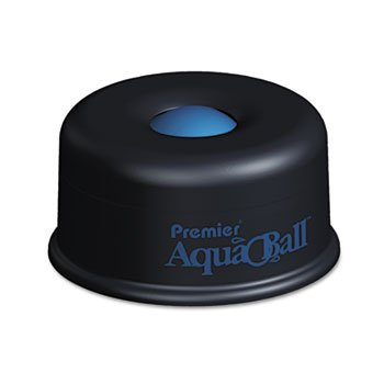 (Martin Yale AQ701G Premier AquaBall All Purpose Moistener (Pack of 6), Black/Blue; Eliminates the need for sponges, rubber fingers, or unsanitary licking of fingers)