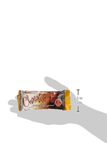 Healthsmart Chocolite Bar Chocolate Crispy Caramel -- 16- 24g(.84oz) Bars by Health Smart Foods (Image #5)