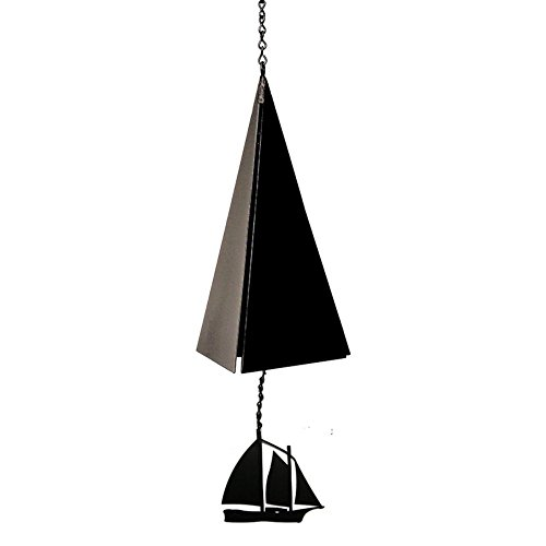 North Country Wind Bells Camden Reach Bell with Windjammer – 3 Tones