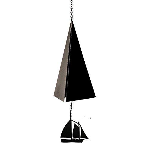 North Country Wind Bells Camden Reach Bell with Windjammer - 3 Tones
