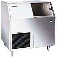 F-300BAF 36 Energy Star Rated Undercounter Ice Maker With 303 lbs. Daily Ice Production Flaked Ice 100 lbs. Built-In Storage Removable Air Filter And Scoop: Stainless Steel