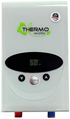 THERMO SOLUTIONS Tankless Electric Water Heater, Thermo Master, 12000watts, 240